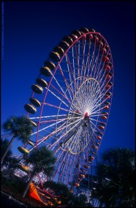 JP1298 Ferris Wheel - Circus World, Orlando, Florida