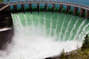 2011 Kerr Dam overflow, Polson Montana.