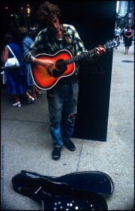 Street Musician; Fifth Avenue; NYC